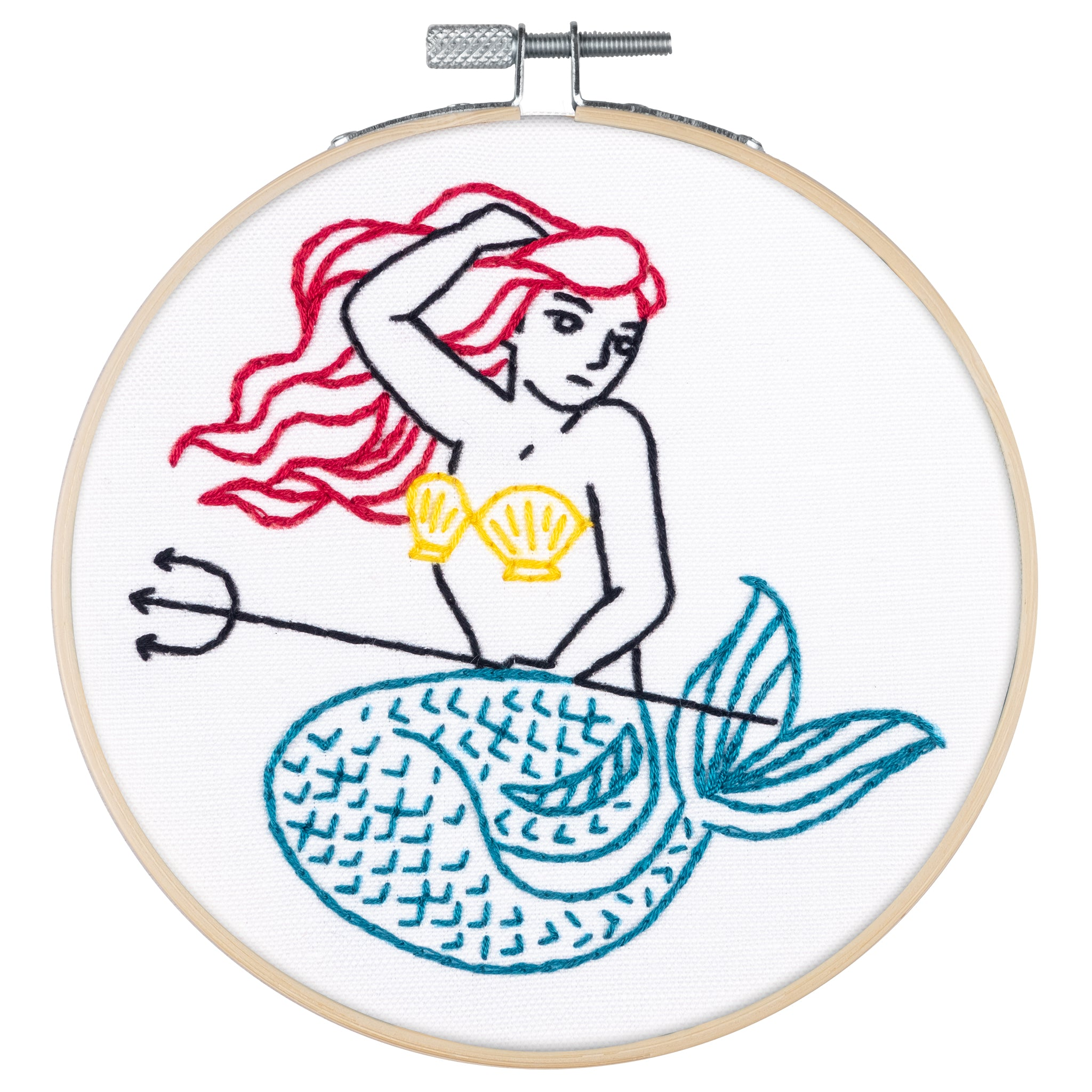 Mermaid Embroidery Kit
