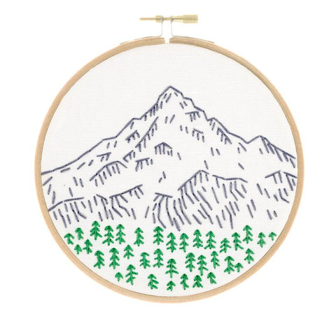 Portland's Mount Hood Embroidery Kit