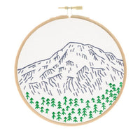 Mount Rainier Embroidery Kit