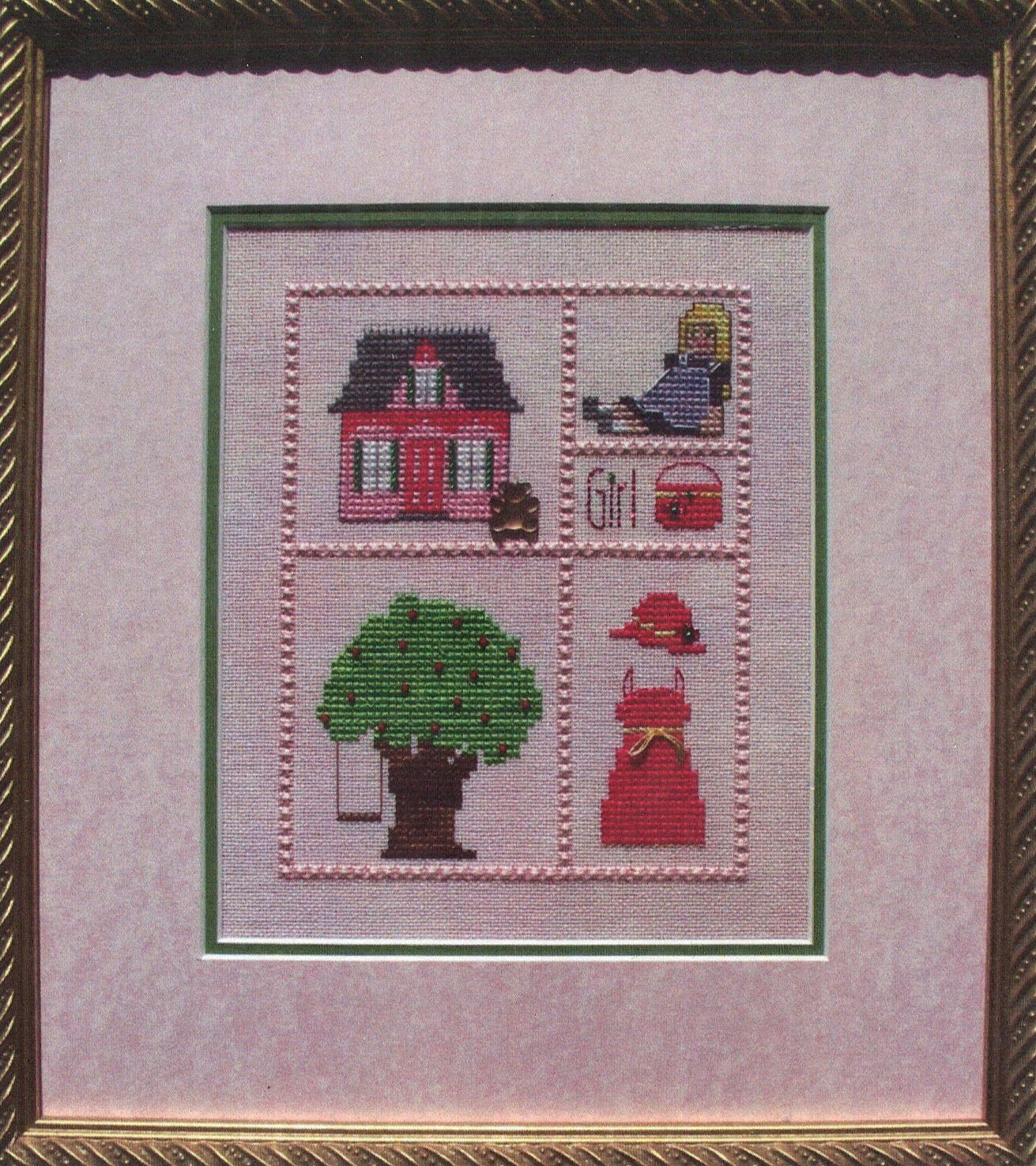 My Girl - Cross Stitch Pattern