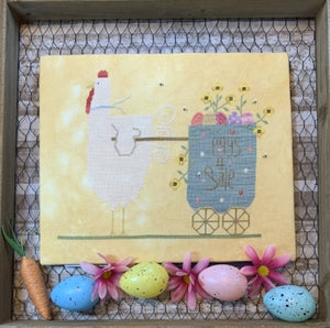 Spring Chicken - Cross Stitch Pattern