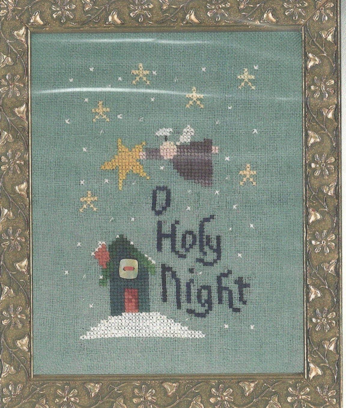 O Holy Night - Cross Stitch Pattern