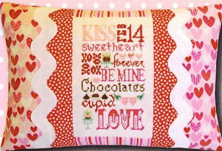Valentine Typography Pillow Kit