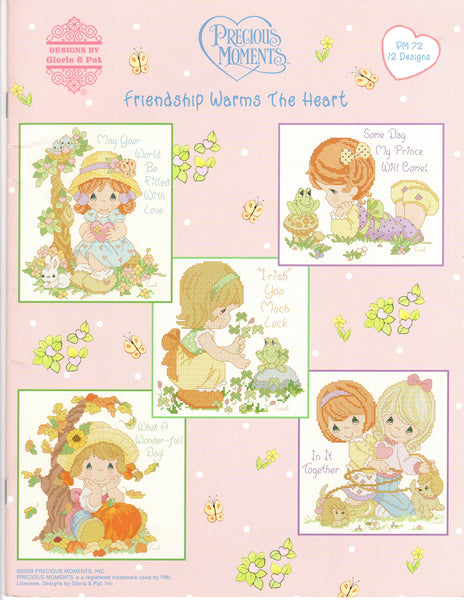 Precious Moments - Friendship Warms the Heart - Cross Stitch Pattern