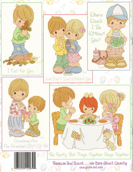 Precious Moments - Love, Family, & Friends - Cross Stitch Pattern