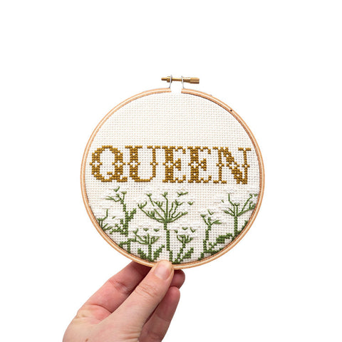 Queen Cross Stitch Cross Stitch Kit