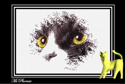 Ms. Phoenix - Cross Stitch Pattern