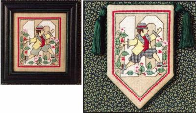 Ten Lords A-Leaping - Cross Stitch Pattern