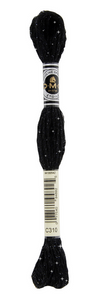 Mouliné Étoile - C310 (Black) - DMC Embroidery Floss
