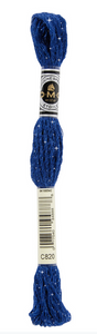 Mouliné Étoile - C820 (Very Dark Royal Blue) - DMC Embroidery Floss