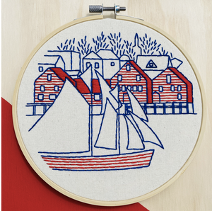 Lunenburg Embroidery Kit