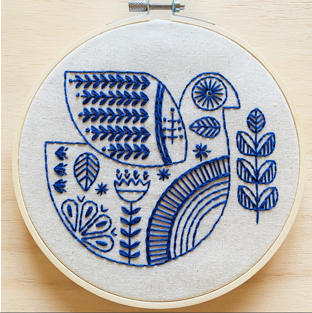 Hygge Dove Embroidery Kit