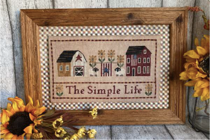 The Simple Life - Cross Stitch Pattern