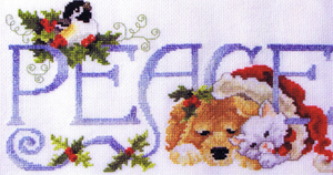 Peace for All - Cross Stitch Pattern