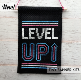 Level Up Tiny Banner Kit