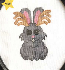 Jackalope - Cross Stitch Pattern