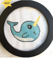 Narwhal - Cross Stitch Pattern