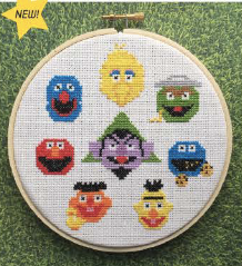 Sesame Street - Cross Stitch Pattern