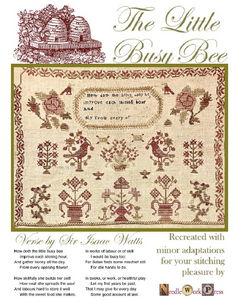 The Little Busy Bee - Cross Stitch Pattern