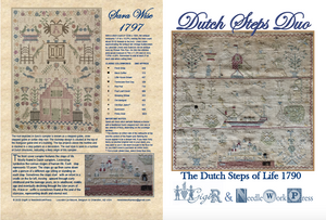 Dutch Steps Duo - Cross Stitch Pattern