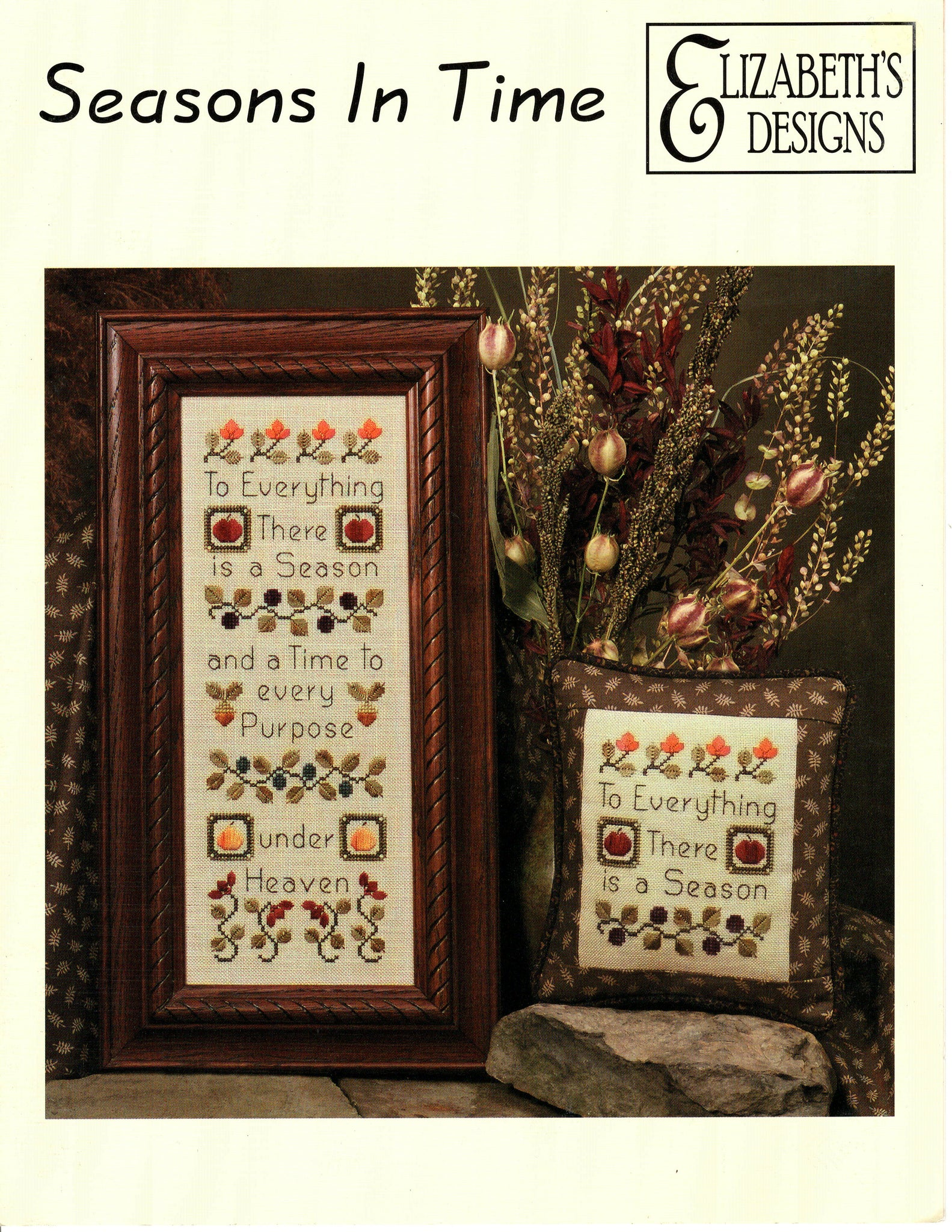 Seasons in Time - Cross Stitch Pattern