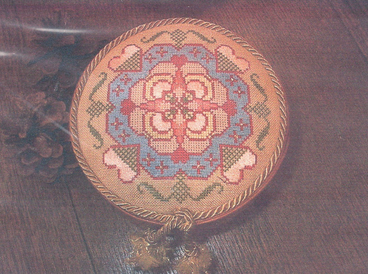 Shaker Box Pincushion - Cross Stitch Pattern