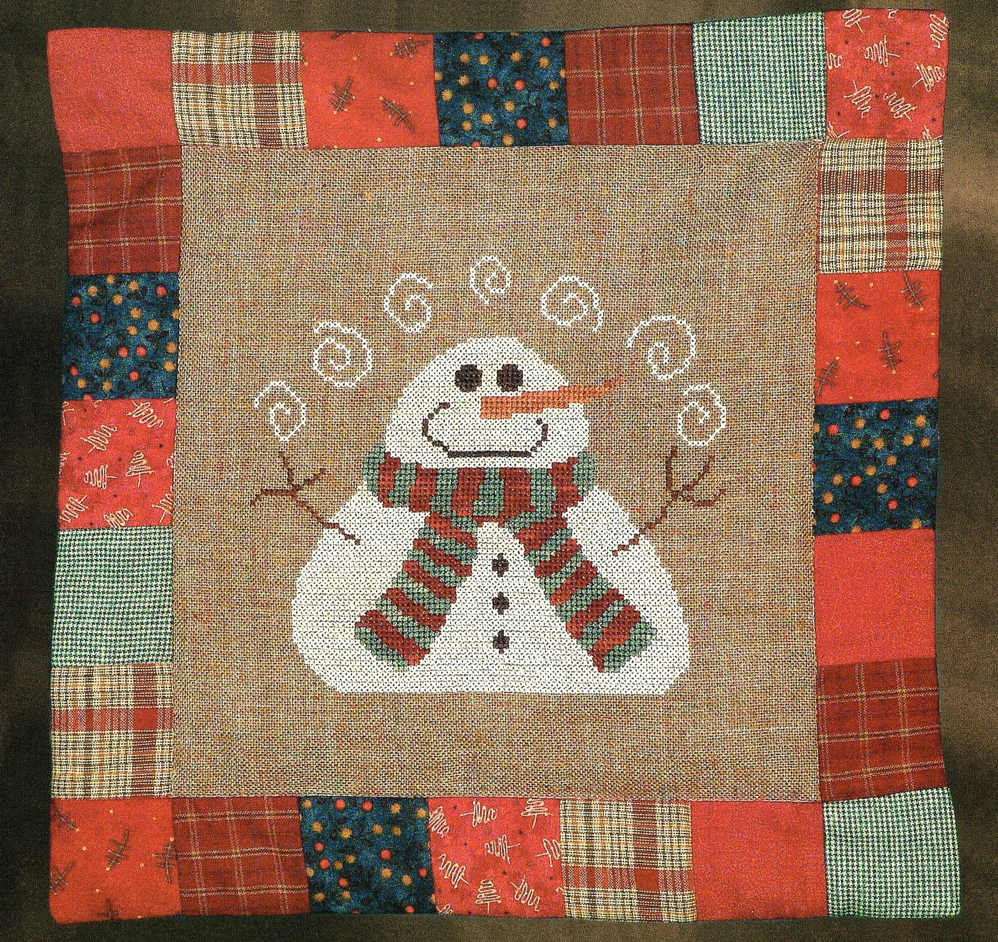 Snow Juggle - Cross Stitch Pattern