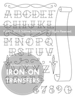 Tattoo Alphabet Small Pack Embroidery Patterns