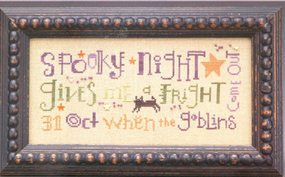 Domes of Doom - Spooky Night - Cross Stitch Pattern