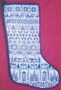 Grandma's Stocking - Cross Stitch Pattern