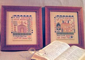 Proverbs - Cross Stitch Pattern