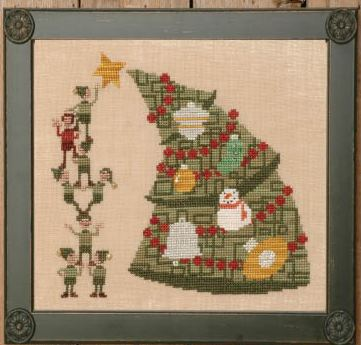 Uber Christmas Tree - Cross Stitch Pattern