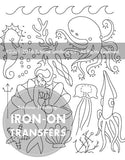 Under the Sea Small Pack Embroidery Patterns