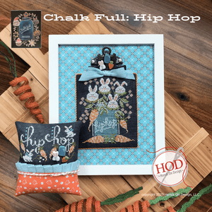 Chalk Full #5 - Hip Hop - Cross Stitch Pattern
