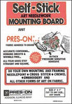 "11"" x 14"" Pres-On Mounting Board"