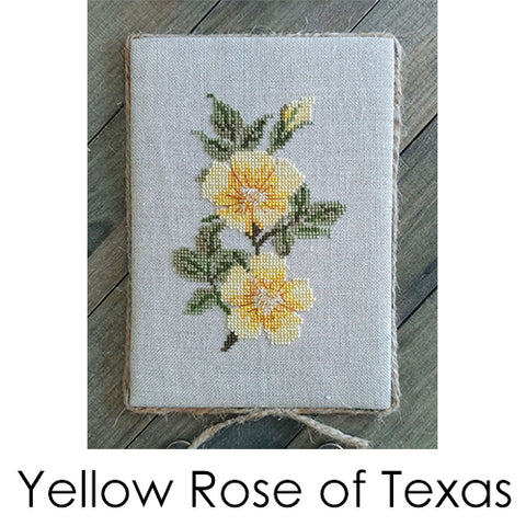 Yellow Rose of Texas - Cross Stitch Pattern