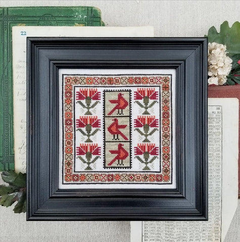 Carnation Sampler - Cross Stitch Pattern