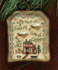 2007 Sampler Ornament - Peace on Earth