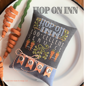 Hop On Inn - Cross Stitch Pattern