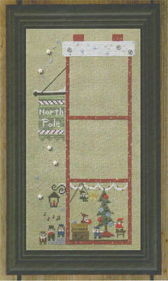 Snappers The Christmas House Complete Set - Cross Stitch Pattern