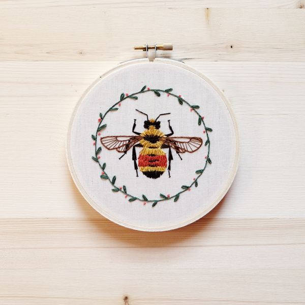 Hunt's Bumblebee DIY Embroidery Kit