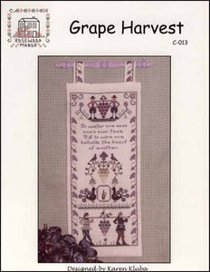 Grape Harvest - Cross Stitch Pattern