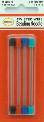 Twisted Wire Beading Needle Assortment
