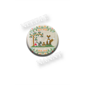 "Country Cottage Needleworks ""Forest Fox and Friends"" Needle Nanny"