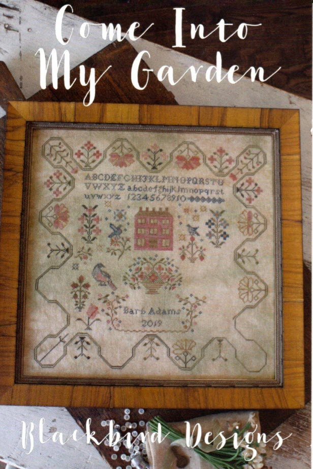 Come Into My Garden - Cross Stitch Pattern