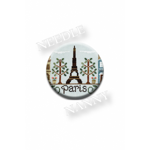 "Country Cottage Needleworks ""Paris"" Needle Nanny"