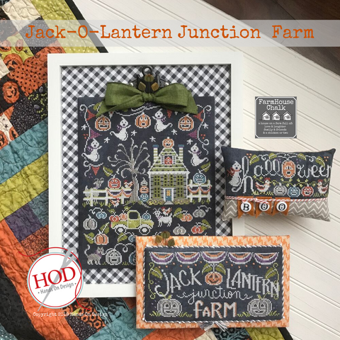 Farmhouse Chalk - Jack-O-Lantern Junction Farm
