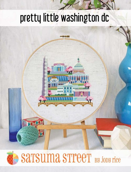 Pretty Little Washington DC - Cross Stitch Pattern