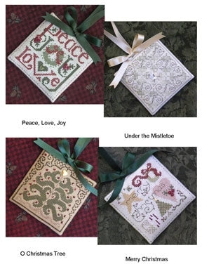 Christmas Quartet - Cross Stitch Pattern