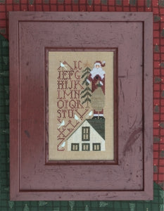 Simple Samplers - Up on the Roof Top - Cross Stitch Pattern